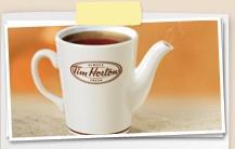 Tim Hortons tea time~ love this