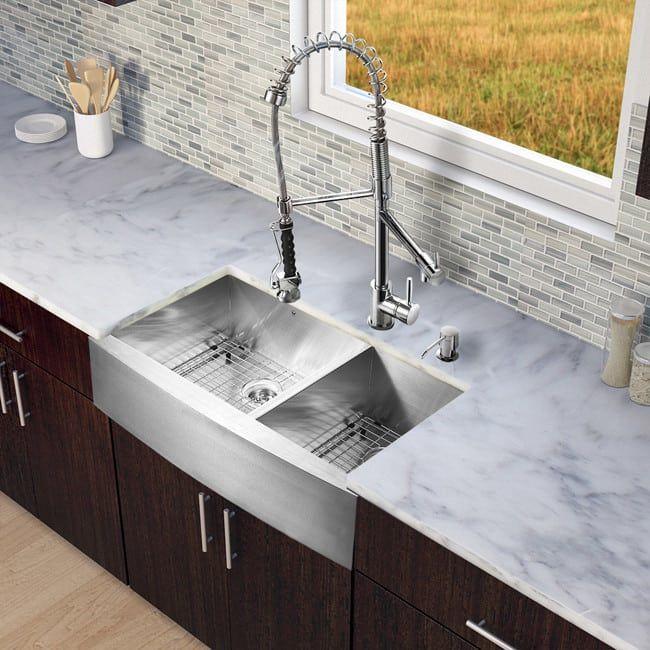 High Quality Edelstahl Doppel Bowl Bauernhaus Waschbecken   Küchenmöbel Überprüfen Sie  Mehr Unter Http://loungemobel Good Ideas