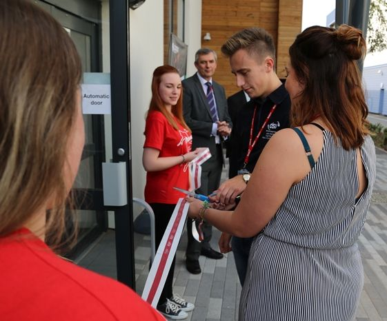 First-year students at DMU have been officially welcomed with a celebration at a spectacular new events centre, The Venue@DMU.
