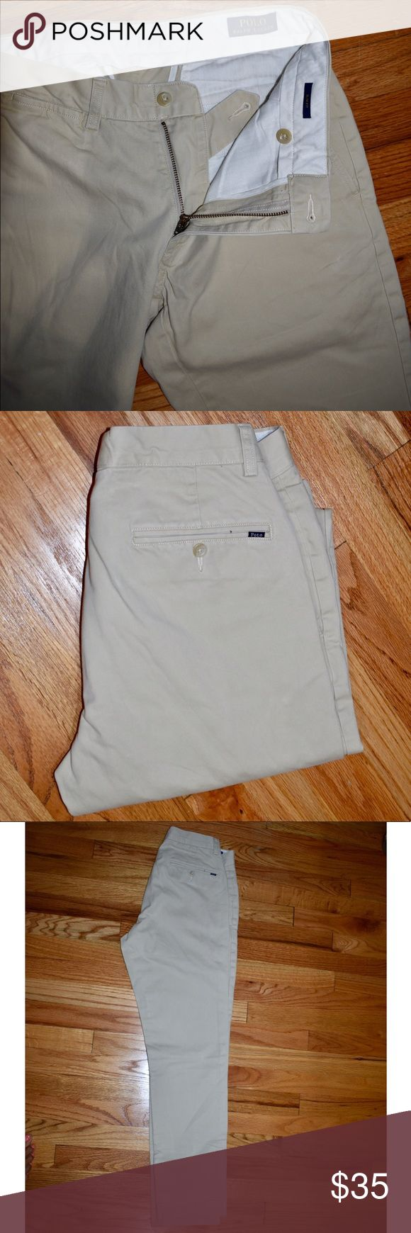 Ralph Lauren Men's Slim Fit Khaki Pants BRAND NEW CONDITION!!! Size 30 x 32. Make an offer! Polo by Ralph Lauren Pants Chinos & Khakis