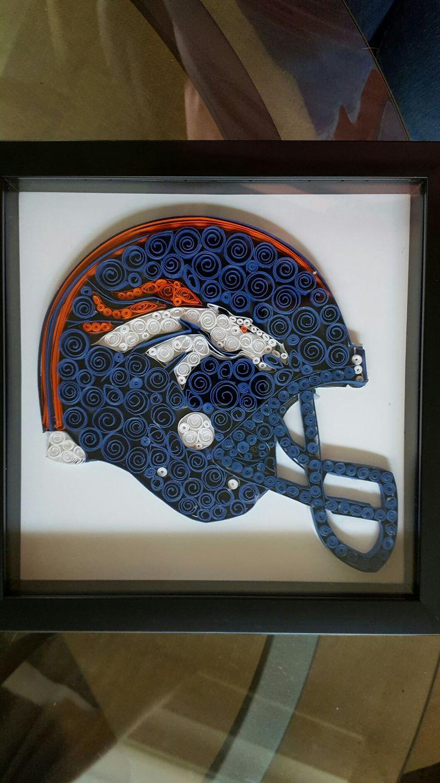 Broncos helmet for my son