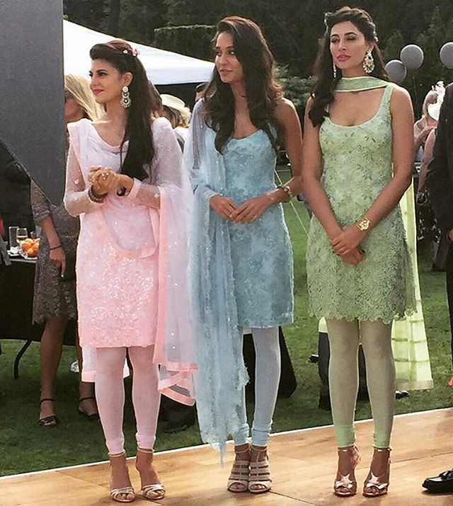 The Housefull 3 Girls, #DoubleTap if you love any of them @BollywoodImages ❤❤❤