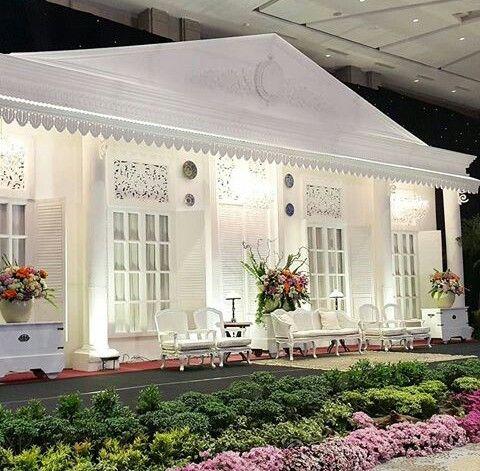 "Beautiful decoration ""Rumah Kolonial Betawi"" by Azka Anggun Art. This is awesome!"