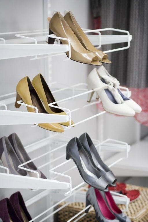 Awesome Schuhaufbewahrung Offener und begehbarer Kleiderschrank