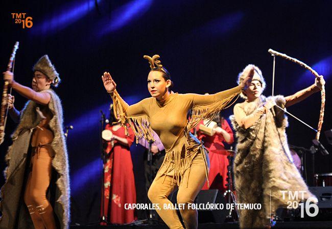 Gran montaje escénico cautivó al público Temuquense en la gala del Ballet Folclórico de Temuco