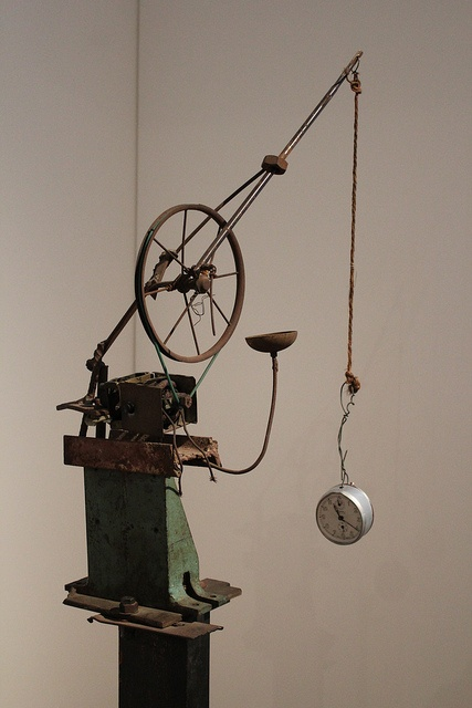 """Jean Tinguely- Fragment of """"Homage to New York"""""""