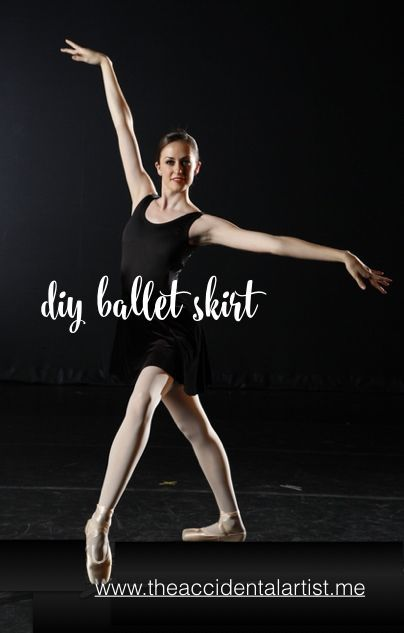 DIY ballet skirt. Want to make your own?