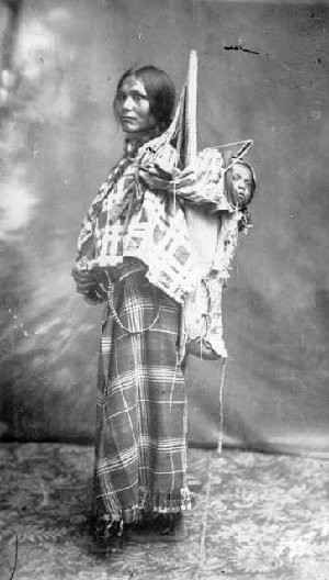 Sacagawea - A guide for LEWIS and CLARK. The only female member of the Lewis & Clark expedition, while carrying a baby on her back for 2 years.