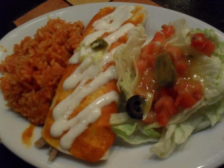 burrito @Agave