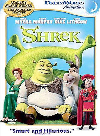 Shrek (DVD, 2003, Full Frame) | DVDs & Movies, DVDs & Blu-ray Discs | eBay!