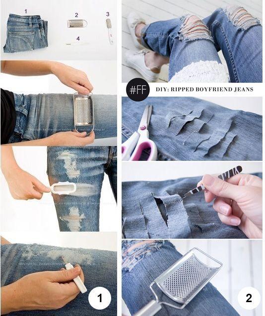 175bcf28583 Como Desfiar Jeans – Guia fácil para customizar em casa os modelos mais  desejados do momento