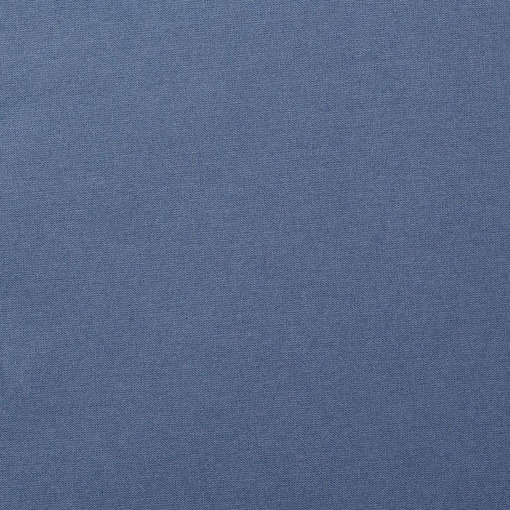 5,99€/m - Tissu coton uni Cristina bleu gris