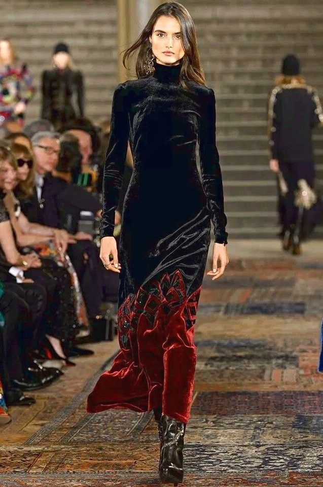 FrenchEconomie ™ ️ Winter 2019 Neueste Damenmode: Ralph Lauren Fall / Winter 2018-2019