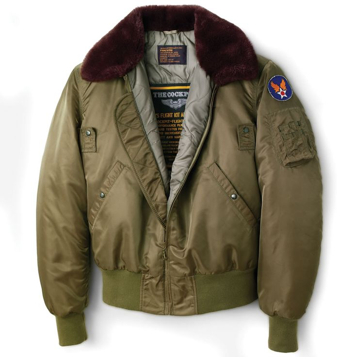The B-15 U.S. Air Force Jacket - Hammacher Schlemmer