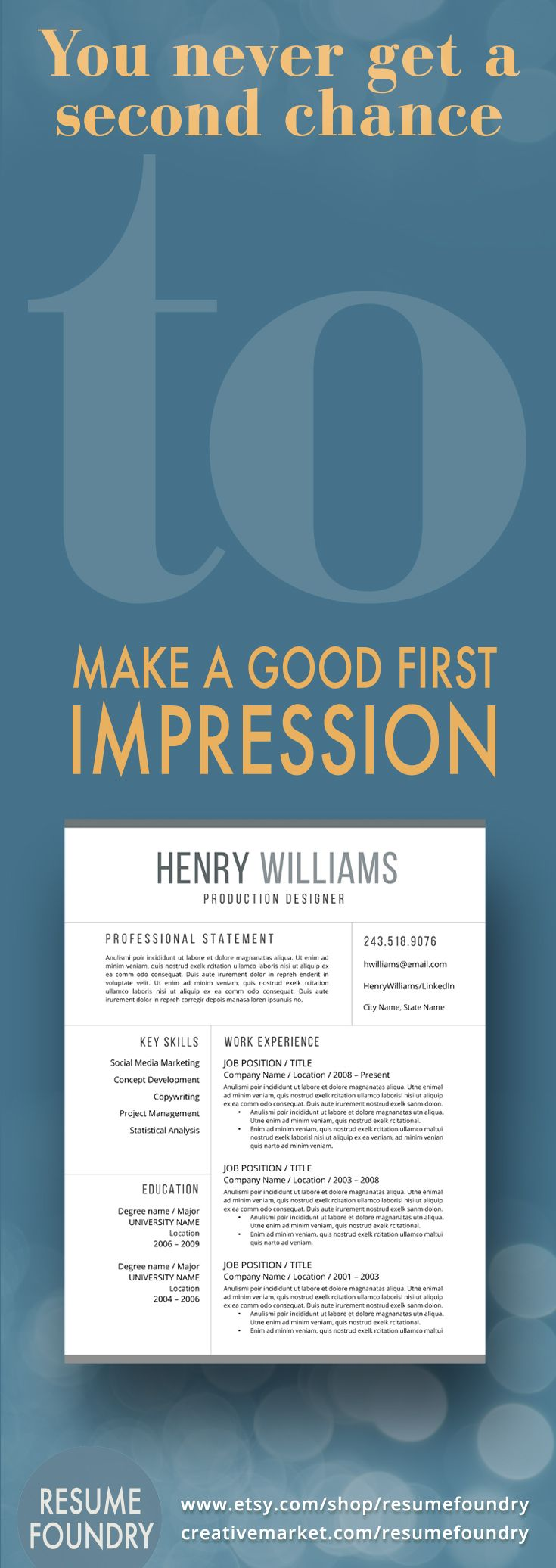 Make your first impression count with a