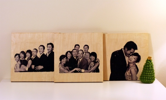 the photo-to-wood transfer