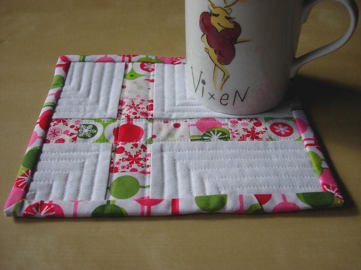 Quilted Mug Rugs Patterns - Bing Images