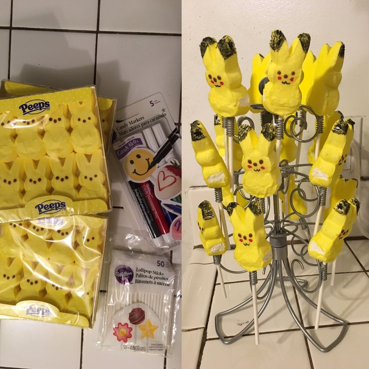 Pikachu Party treats. Pokemon party.