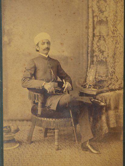 Portrait of Maharaja Kishen Pershad