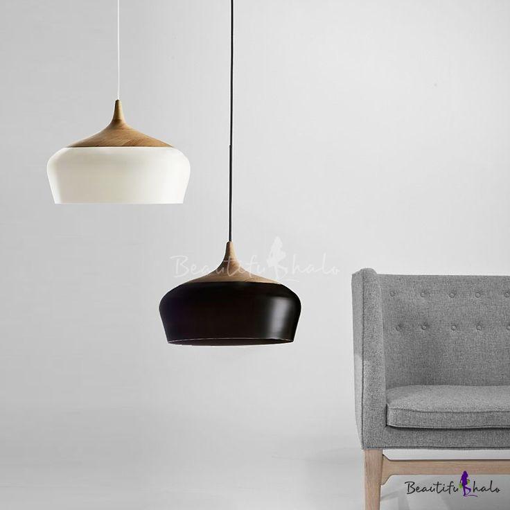 Large Pendant Light In Designer Style Aluminum Bowl & 77 best WIRE u0026 FRAME WORK LIGHTS images on Pinterest | Work lights ... azcodes.com