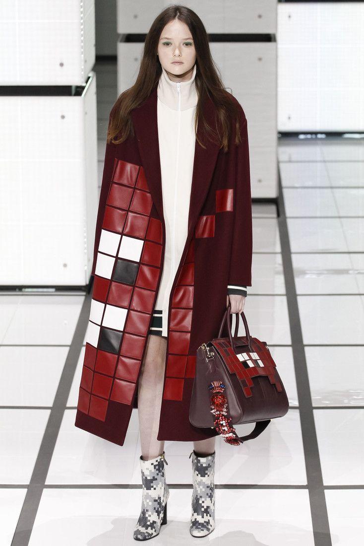 Аня Хиндмарч показала «пиксельные» наряды : Коллекция Anya Hindmarch сезона осень-зима 2016/17 / фото 2