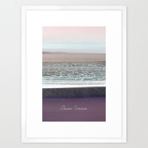 Ocean Dream II Framed Art Print by Pia Schneider [atelier COLOUR-VISION] - $34.00 #photography #coloring #typography #art #artprint #signature #vintage #softcolored #piaschneider #ateliercolourvision #pia #schneider #gift #framed #canvas #ocean #mediteran #sea #crete #impressionism #nature #beach #white #summer #framed #home #walldecor #greece