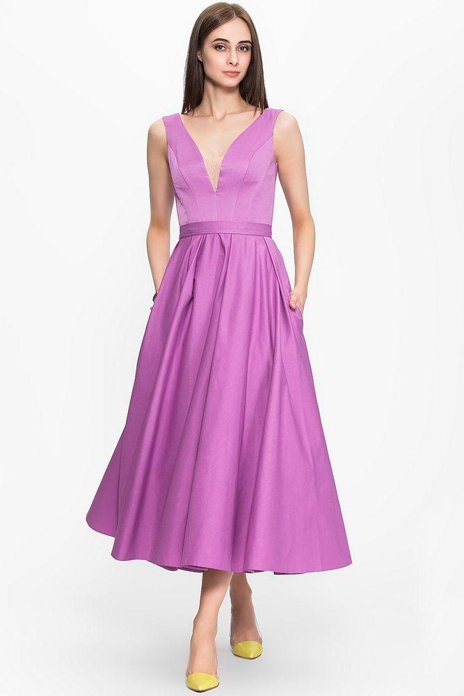 Пышное платье в стиле 1950-х. Российский бренд Lucy