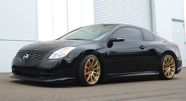 Nissan Altima 2dr 7 Piece Full Body Kit 08 09 Gt Concept