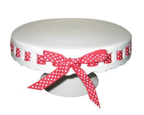 Cake Stand With Ribbon Holes Australia