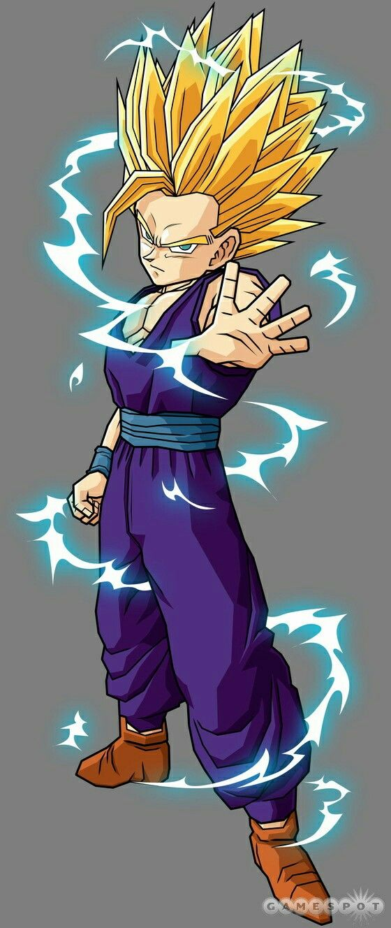 Ssj2 Gohan he always be my favourite character #DragonBallZ