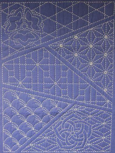 Sashiko Stitching Patterns   Sashiko sampler of patterns