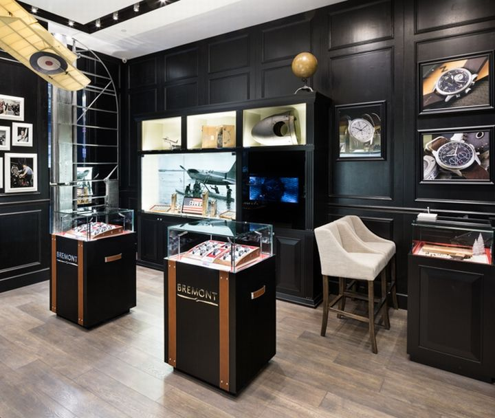 Bremont Watches Boutique By Pop Store Hong Kong British Watchmakers London