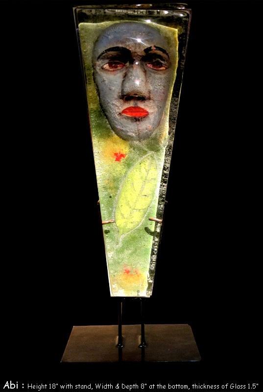 Atul Bakshi, Indian Artist, Stained Glass, Art Glass, Cast Glass, Glass Art, Cast Glass Art, Glass Sculptures, Art Glass Sculptures, India, Delhi