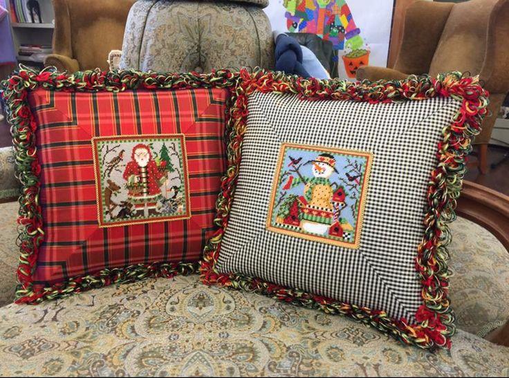 Framed pillows