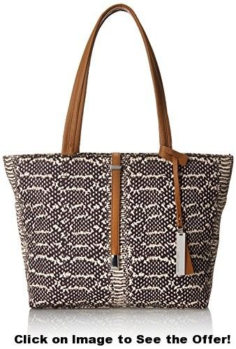 Vince Camuto Leila Nylon Travel Tote, Negori/Rich, One Size