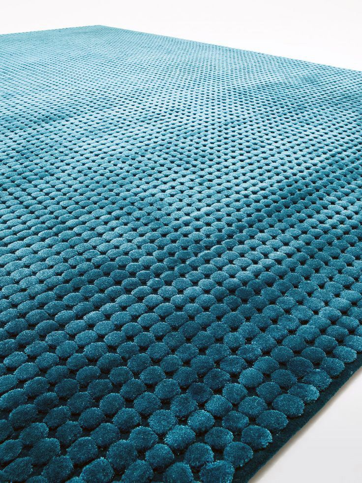 #designbest 's Top10 products by Paola Lenti @paola_lenti   Crown, CRS Paola Lenti This carpet has a geometric pattern inspired by metal studs. Hand-tufted relief pattern, made using virgin New Zealand wool.   #interiordesign #carpet