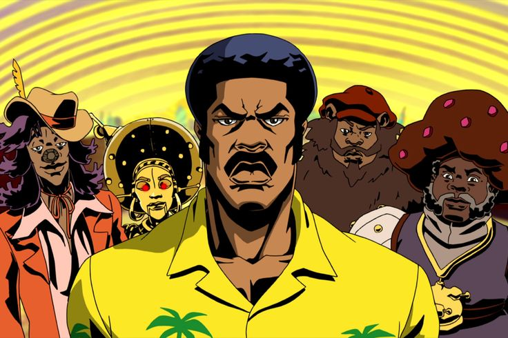 'Black Dynamite' has R&B and dope fiends and weak pimps. But along with the cartoon funk is an all-too-real story of police brutality embodied by a horde of evil Pigs.