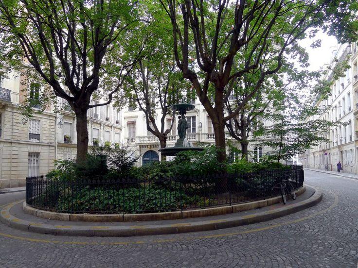 Les places les plus paisibles de Paris, les havres de paix planqués