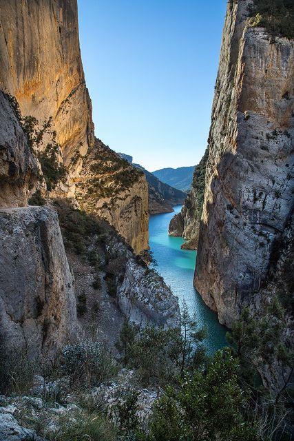 Congost de Mont-Rebei Lleida Catalonia