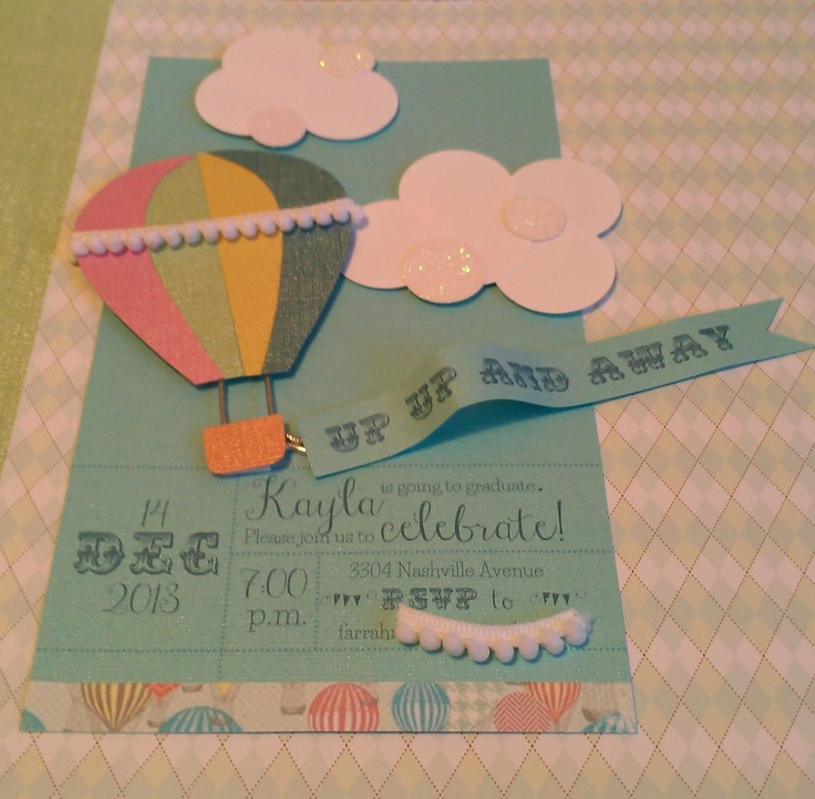 Hot Air Balloon invitation | Hi Honey, How Was Your Day?