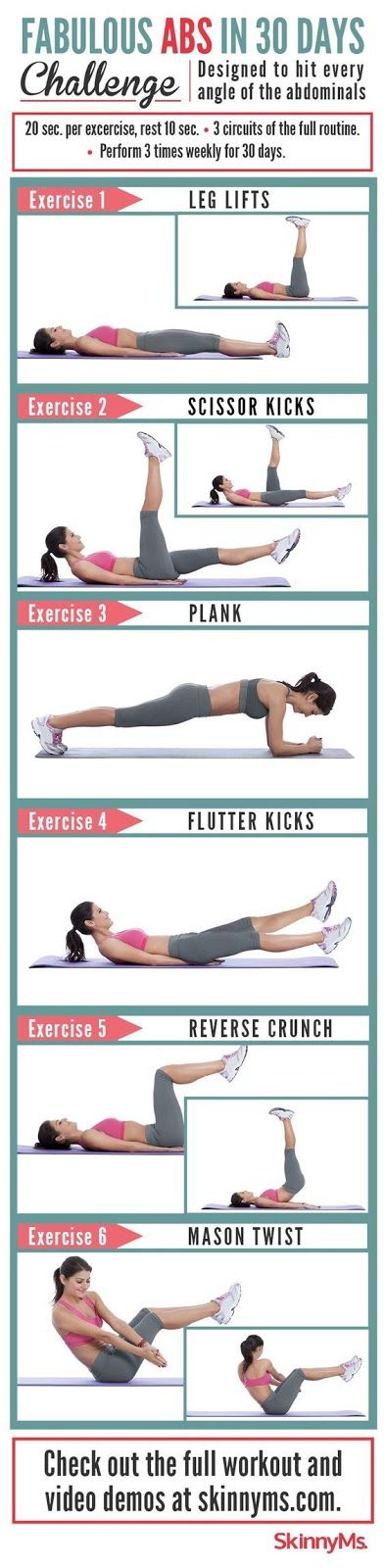 fab abs in 30 days