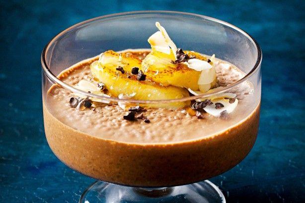 Banoffee coconut chia puddings main image