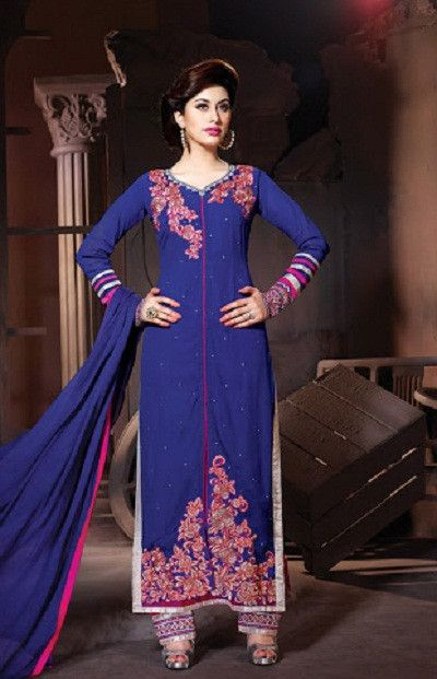 Blue Designer Suits | Online Shopping Company : streetbazaar.in