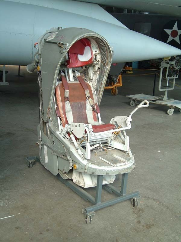 xb70 ejection seat | 58A-20-CF 61-2080