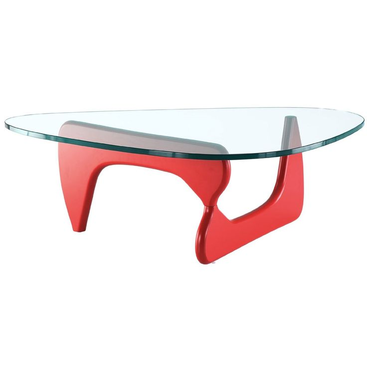 Modern Red Coffee Table Omuro