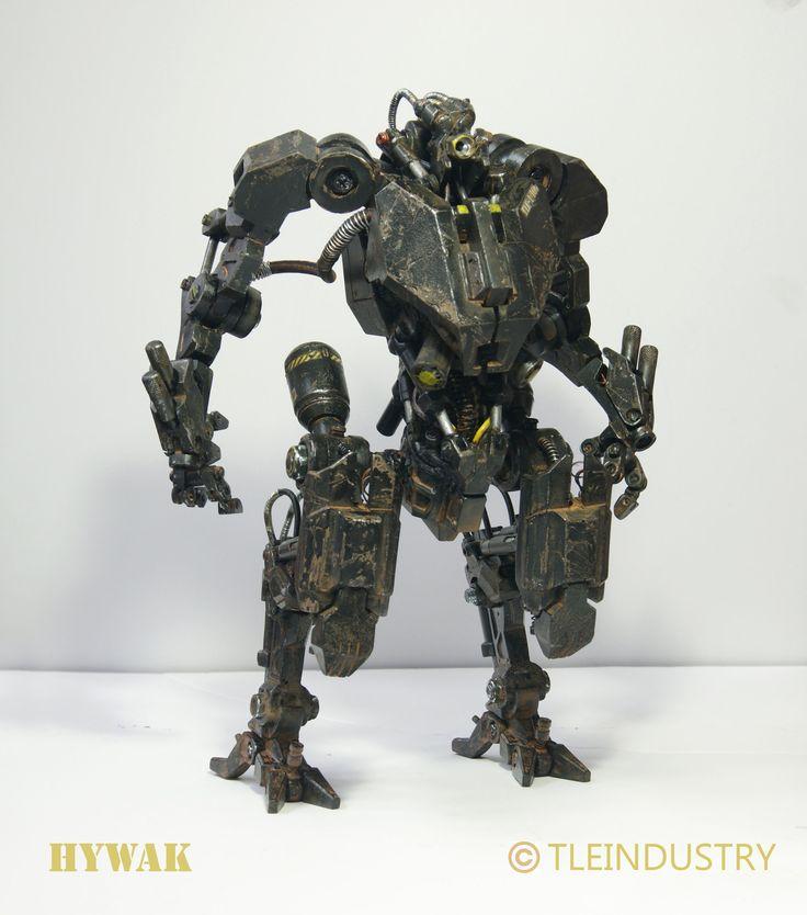ArtStation - Advanced Hydraulic Walker aka HYWAK. 1/6 scale Mech model, tle industry