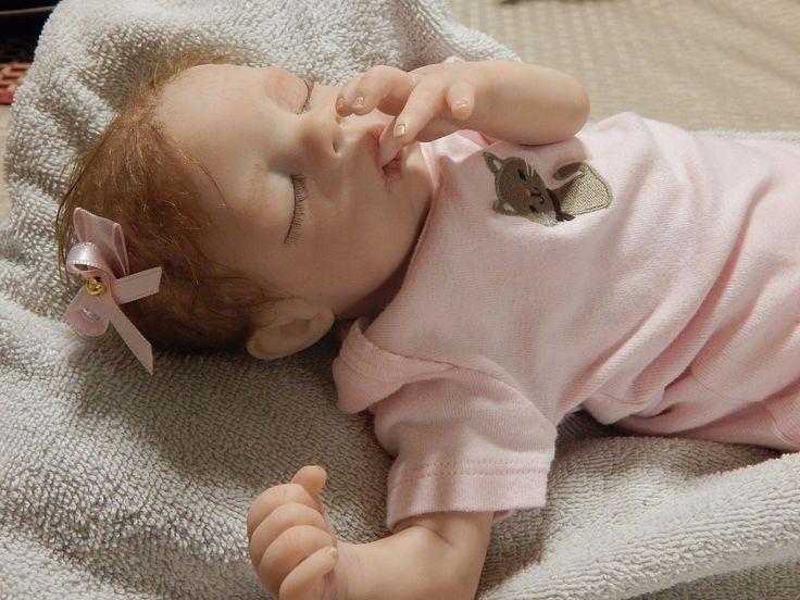 Charity's Angels Presents Megan Bountiful Baby Girl Reborn Doll OOAK Preemie | eBay