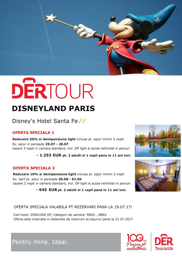 Disneyland Paris - oferte speciale valabile pana la 19.07.17 Franta, Europa http://bit.ly/2uWft8P #adventure #travel #Disneyland