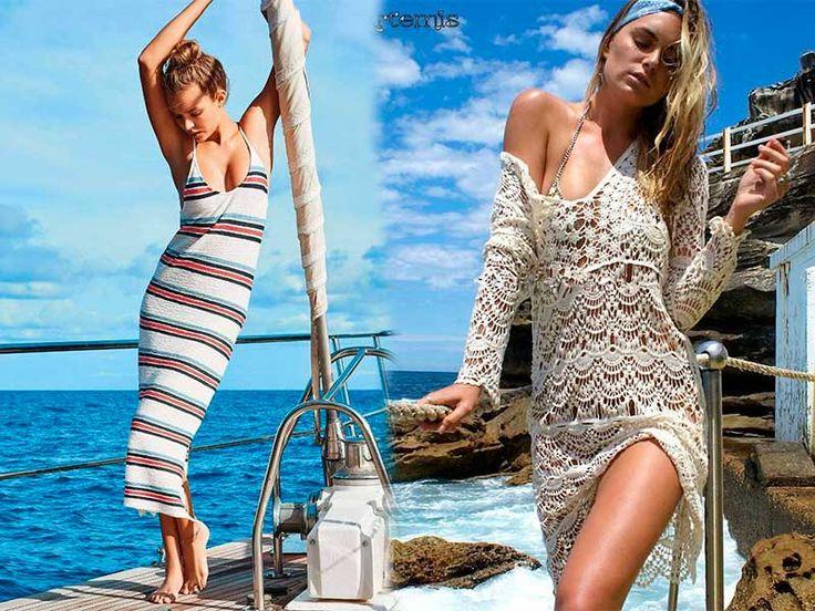 Τι θα Φορεθεί Φέτος στην Παραλία – Καλοκαίρι 2017