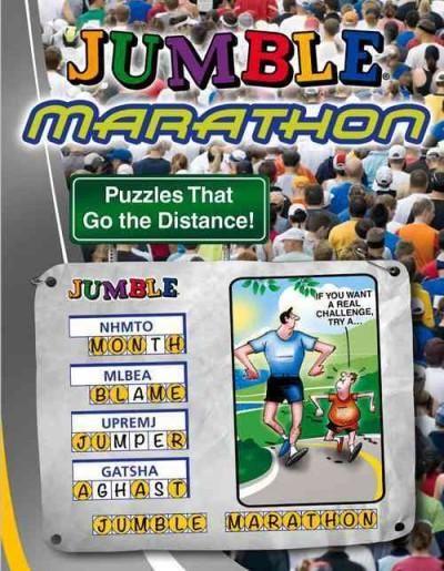Jumble Marathon: Puzzles That Go the Distance!